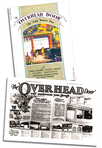 Overhead Door Historic Ads