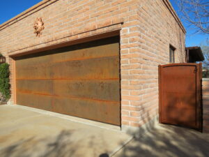 Garage Door and Gate After (approximately one year later)